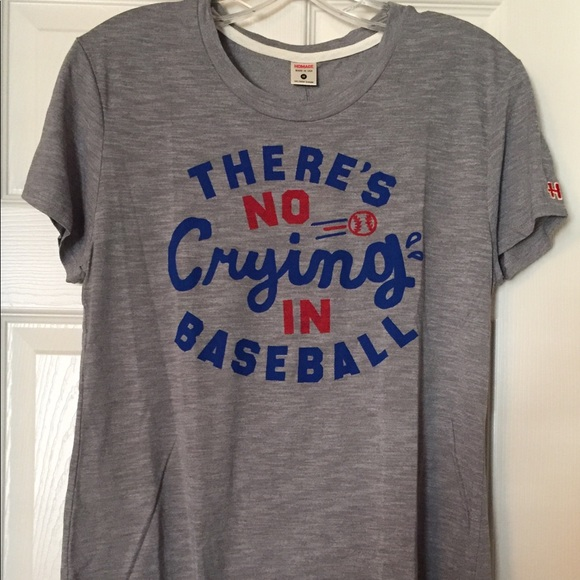 71905f5ce Express Tops | Homage T Theres No Crying In Baseball M | Poshmark